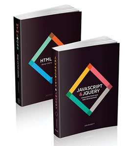 Books on website design | HTML5 and CSS3